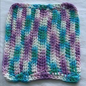 Other - Pretty Crocheted All Purpose 100% Cotton Cloth